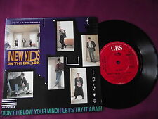"""New Kids On The Block - Didn't I (Blow Your Mind). 7"""" vinyl single (7v2475)"""