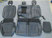 2015 - 2019 ORIGINAL FORD F150 TAKEOFF REAR BLACK LEATHER SEAT UPHOLSTERY