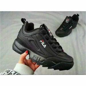 FILA Herren oder Damen Low-Top Kult-Schuhe Lifestyle Sneakers Disruptor Low