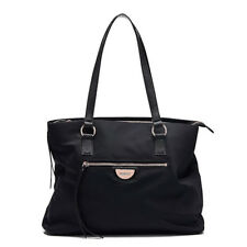 93689759e265 MIMCO Echo Worker Tote Bag Black Nylon Shopper Travel Work Authentic New