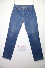 Wrangler reg Body straight(Cod.Y1125) Tg.47 W33 L32 Jeans hohe Taille gebraucht