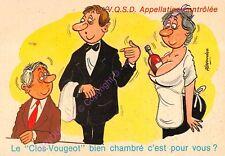 CP HUMOUR ALCOOL IVROGNES Clos Vougeot bien chambré c est pour vous ALEXANDRE