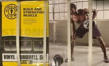 Golds Gym Vinyl 40 lb Adjustable Weight Set - Brand New!  Box In Hand.