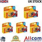 5 Pack: Kodak FunFlash Single User Flash Camera 800asa 27+12 free, New
