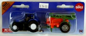 Tractor with Crop Sprayer Diecast Kids Farm Yard Toy SIKU 1668