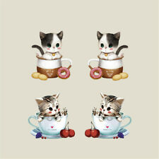 Cute Kitten Washable Fabric Iron-on Transfers (DIYTM271CKD)