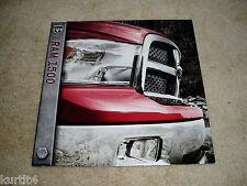 2011 Dodge Ram 1500 pickup truck ST Sport Laramie sales brochure literature