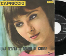 I COMBOS  disco 45 giri STAMPA ITALIANA Capriccio + Una ferita in fondo al cuore