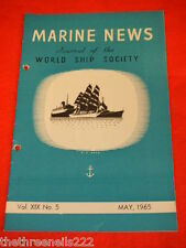 MARINE NEWS - MAY 1965 VOL XlX # 5