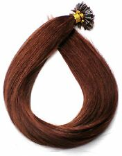 20 Remy Echthaar Strähnen Haarverlängerung great 60cm lenght mahagoni rotbraun
