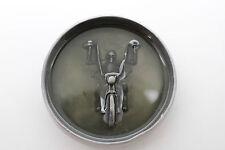 Men Belt Buckle Silver Metal Heavy Grey Skeleton Skull Motorcycle Biker Bones