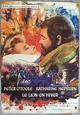 Affiche Belge LE LION EN HIVER Lion in winter PETER O'TOOLE Katharine Hepburn