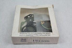 Carburetor REBUILD Repair Kit-Kit/Carburetor BWD 10858 NOS