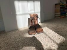 Bed Stu Lace Up Granny Boot Women size 6.5 Brown Leather