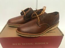 Red Wing Men's 8 3303 Weekender Oxford Copper Rough And Tough Heritage