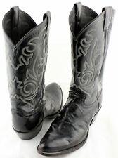 6068b812de8 Justin Men Black Patent   Pebble Leather Cowboy Boots Size 8.5D Style  9225  EUC