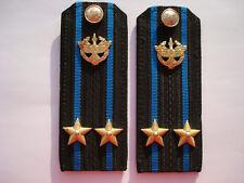 Russian Soviet Army USSR Naval Shoulder Boards Straps Epaulets Air Defense Navy