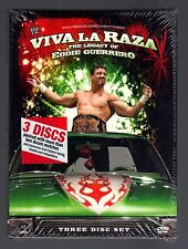 WWE - Viva La Raza! The Legacy Of Eddie Guerrero (DVD, 2008, 3-Disc Set)