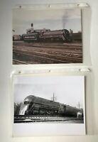 Lot of Baltimore & Ohio Railroad Locomotive Train 5302 Vintage Photos Set 13