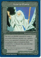 MIDDLE EARTH BLUE BORDER PREMIER RARE CARD LURE OF POWER