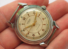 Early soviet RODINA automatic watch Nice Beige Dial 22 Jewels *SERVICED* '1950s