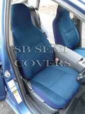 TO FIT A VOLVO V70, CAR SEAT COVERS, TITANIUM BLUE