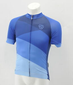 Verge Men's Small  Strike Aero Jersey Short Sleeve Blue Brand New