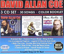 David Allan Coe - 30 Songs [New CD] With Book
