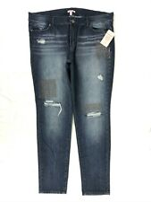 NWT Vintage Reunion Juicy Couture Distress skinny jean size 14