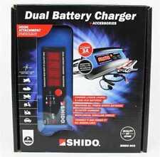 Shido cargador de baterías dc3 para todos los 12 V entenderse litio gel AGM ácido