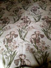 N02/ 2 ANCIENS Rideaux Tentures tapisserie Art Nouveau Iris DUFOUR 2xlrg122xh308