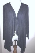 FRESH PRODUCE 2X South Beach BLUE Pointelle Draped Knit Cardigan $79 NWT New 2X