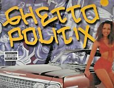 "VARIOUS ARTISTS on double LP "" GHETTO POLITIX "" Hip-Hop Gangsta ( TH 1100-1 )"