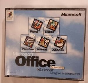 Microsoft Office Professional & Bookshelf Word/Excel/PowerPoint/Schedule/Access