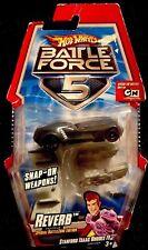 Hot Wheels Battle Force 5 Reverb Die-Cast Car [With Snap-on Blasters] ~NIB~