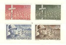 LUXEMBOURG N° 398 A 401 THEMES RELIGION CROIX EGLISES ECT ... COTE € 22