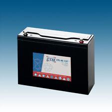 12V 40Ah CTM-Batterie AGM VRLA Longlife