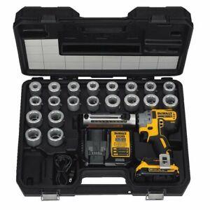 DEWALT DCE151TD1R 20V MAX XR 20 Volt Cordless Cable Stripper Kit