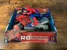 Marvel Spider-Man Motorbike Remote Control 27MHZ New 2020 8+......