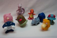 VINTAGE Nintendo POKEMON MIXED CHARACTERS Figures Burger King TOY LOT Mewtwo