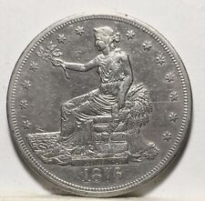 1876 CC RARE SILVER TRADE DOLLAR Type 2 Rev. Shipping $$ on first coin only