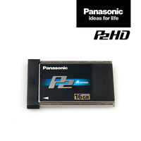 Panasonic Card AJ-P2C016RG | 16 GB P2-Speicher-Karte Black R-Series | MwSt.-Rng.