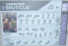Transformers Combiner Wars G2 BRUTICUS Bio Card and Manual