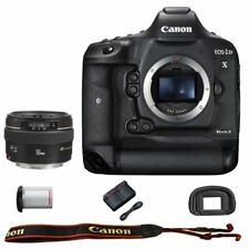 Canon EOS 1DX mark II DSLR Camera + EF 50mm f/1.4 USM Lens