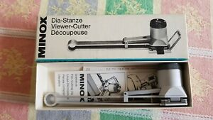Vintage Minox Viewer Cutter. For Slide Mounting Of Film. With Instructions & Box