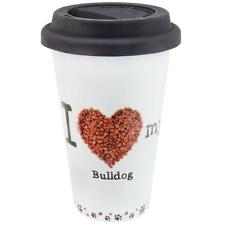 Bulldog Profile Porcelain Mug
