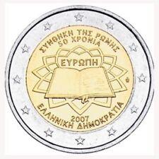 """GRIEKENLAND SPECIALE 2 EURO 2007  """"VERDRAG VAN ROME"""""""