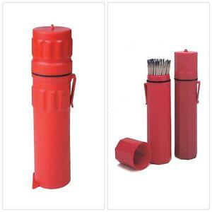 "Pearson 02-HG-14 14/"" Welding Rod Storage Cannister Electrode Holder"