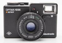 Agfa Optima 1035 sensor electronic Sucherkamera - Solitar S 2.8 40mm Paratronic
