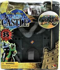 Dragon Knights Castle Carry Along Over 35 Pieces By Toy Major Free Shipping